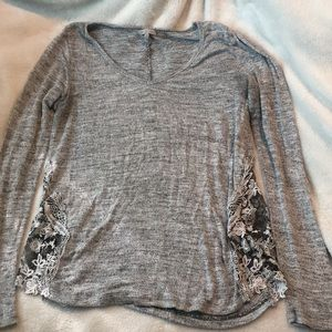 Grey Tunic Sweater